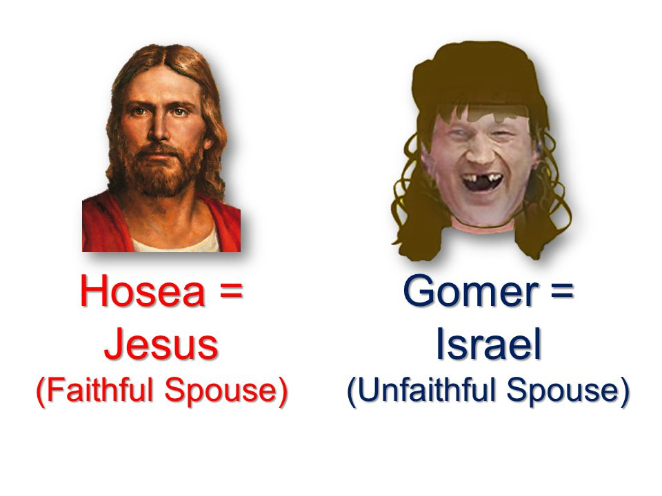 Is this really about a prophet who actually married a harlot? Hosea 2:12-13