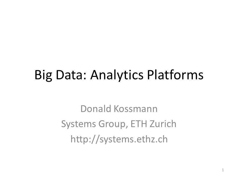 Why Big Data.
