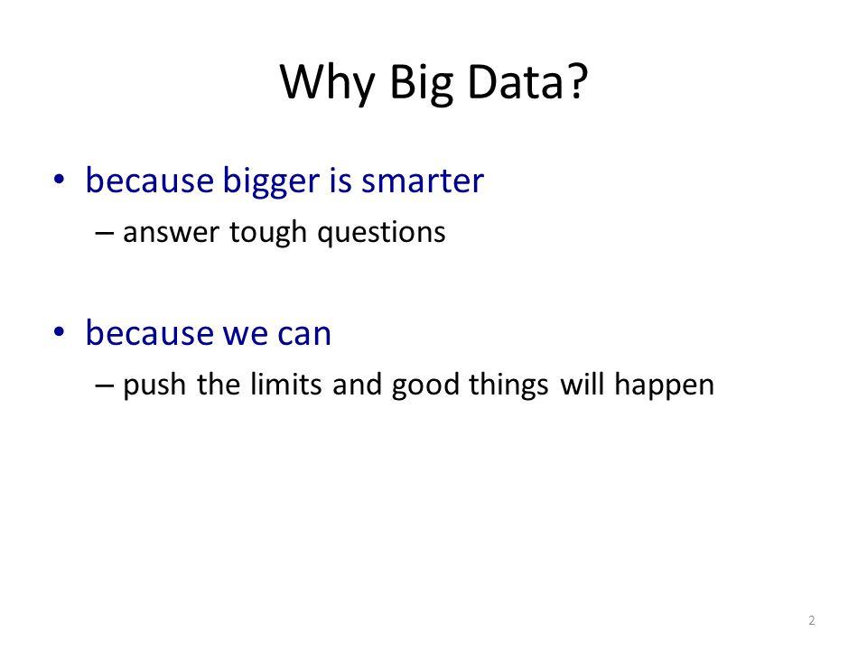 bigger = smarter.Yes.