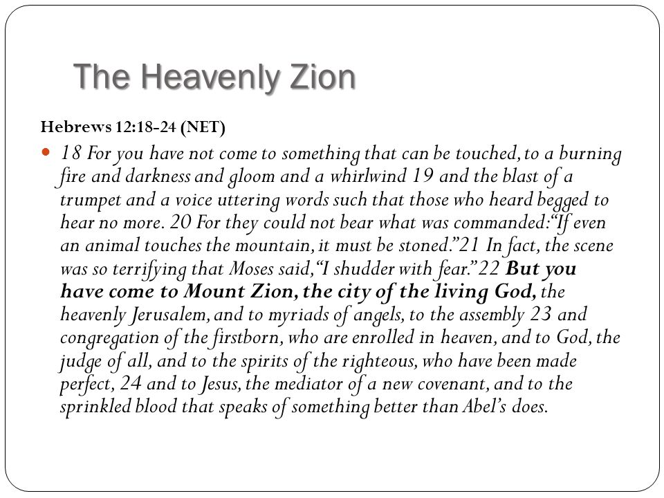 Christians Already Belong In Heaven.