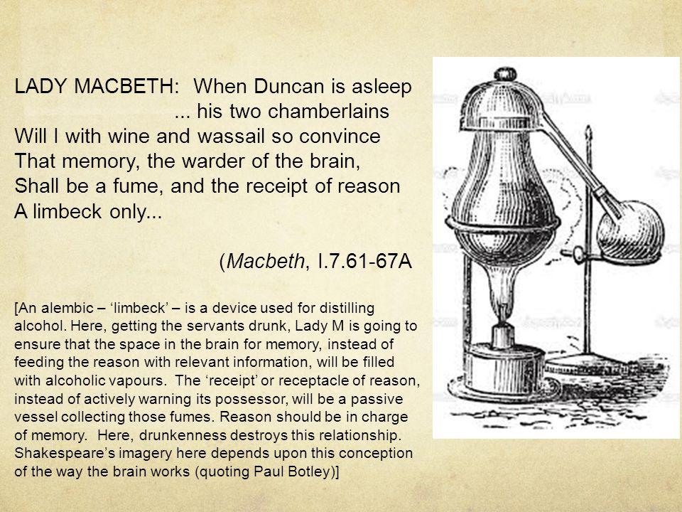 LADY MACBETH: When Duncan is asleep...