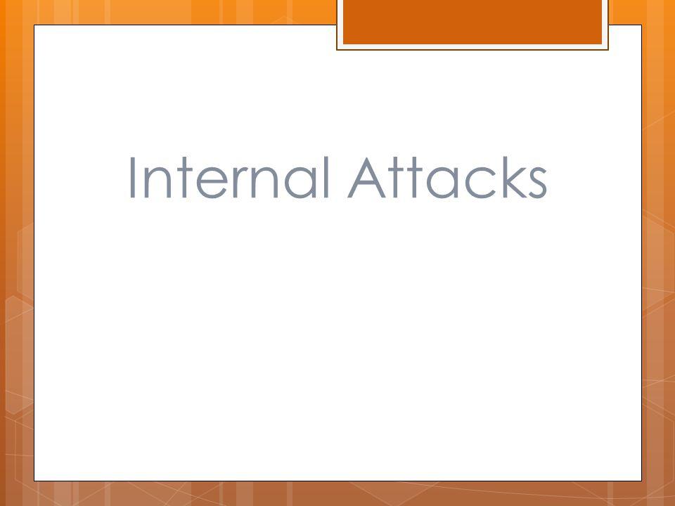 Internal Attacks