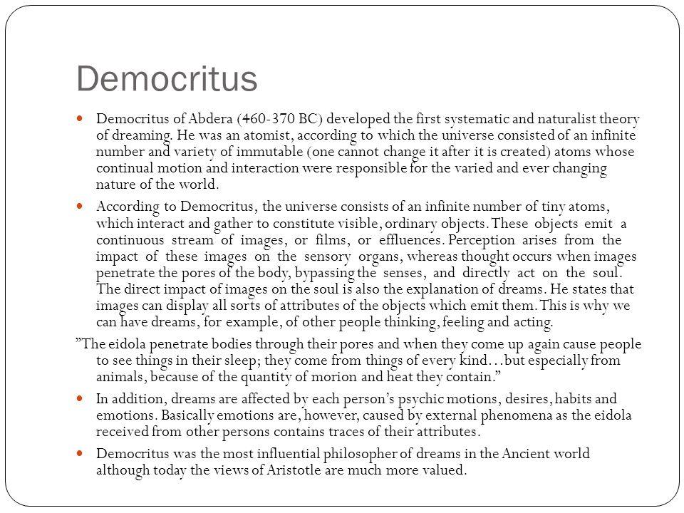 Plato Plato (427-347 BC) followed mostly the divine tradition (for example, Charmides and Socrates' dream in Crito).