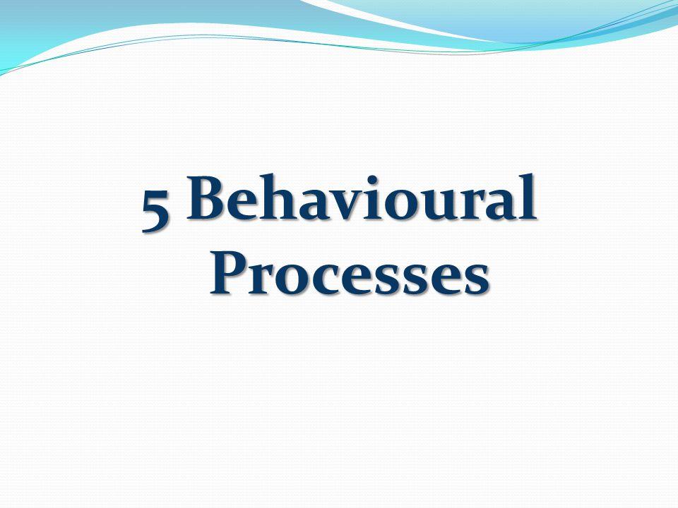 5 Behavioural Processes