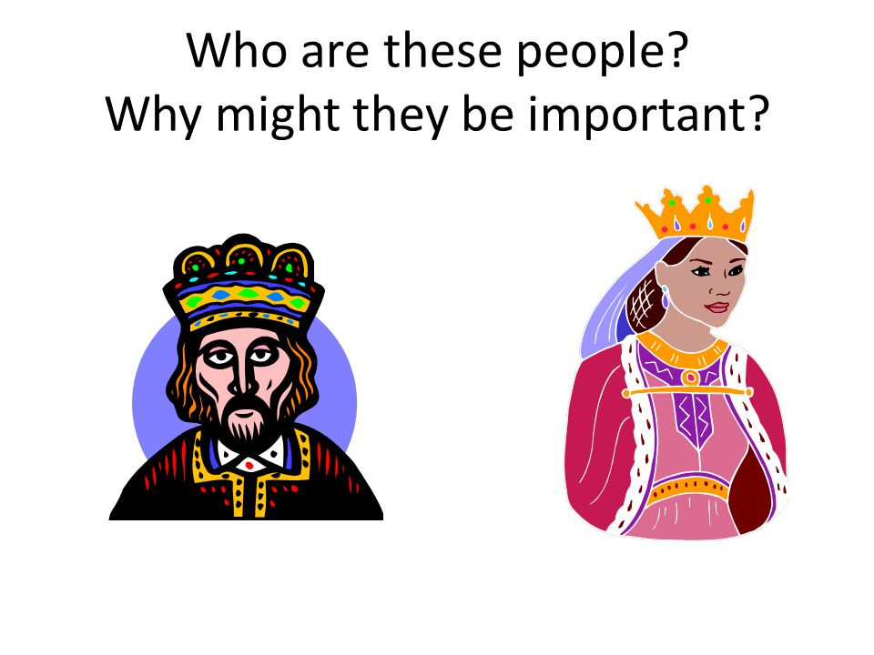 Who are these people?