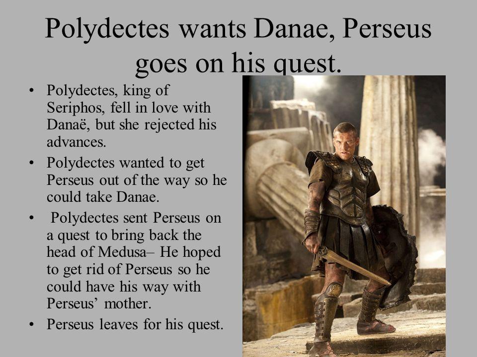 Perseus had help Perseus has no idea where Medusa is.