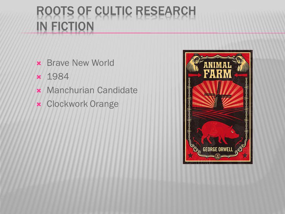  Brave New World  1984  Manchurian Candidate  Clockwork Orange