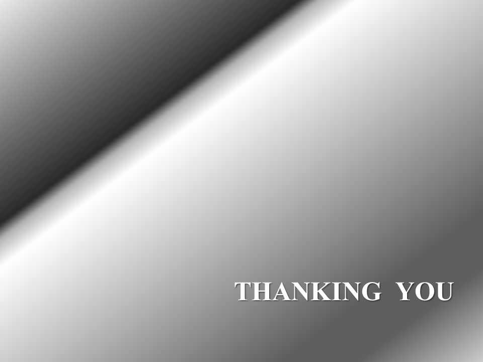 THANKING YOU THANKING YOU