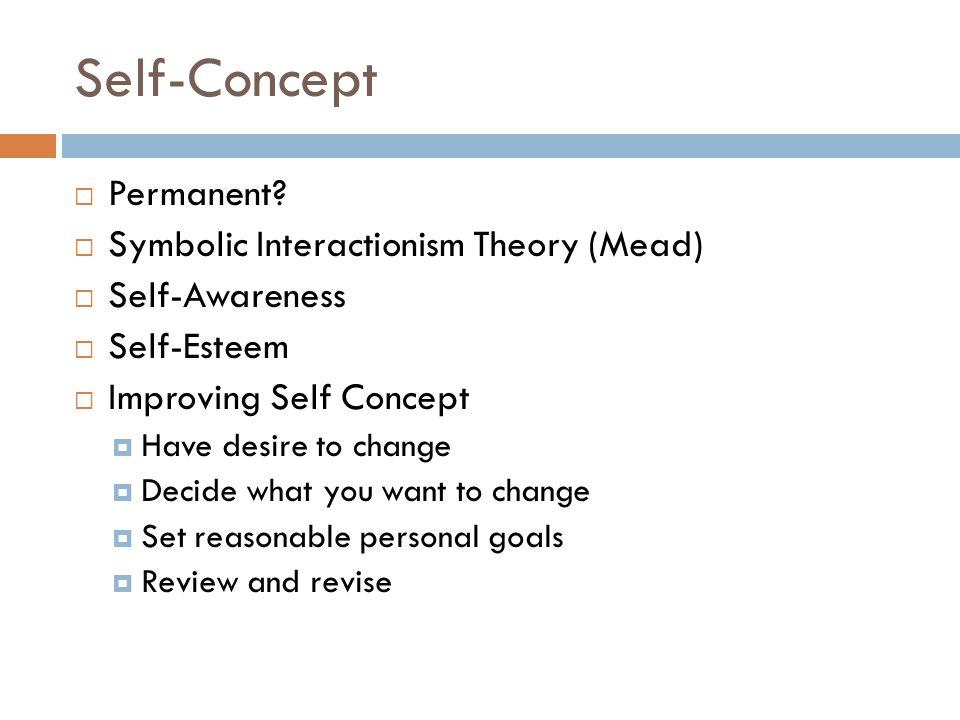 Self-Concept  Permanent.
