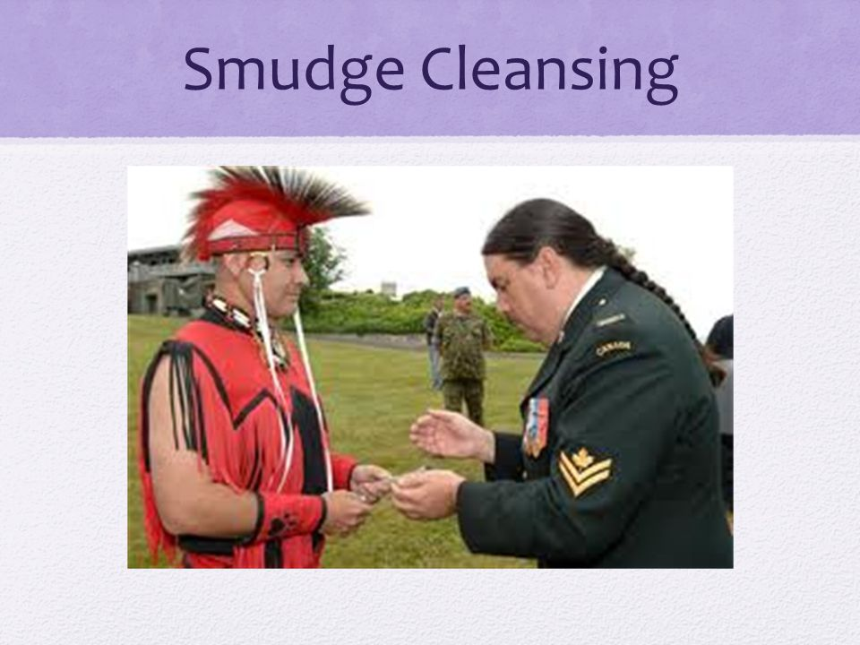Smudge Cleansing