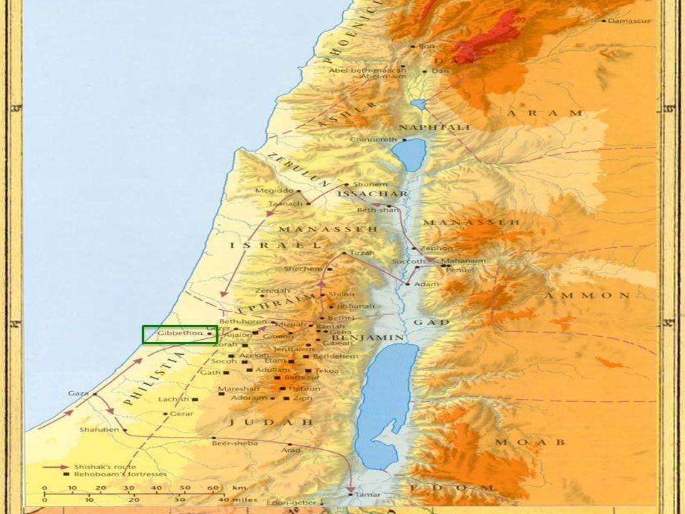 Saul (1051-1011 BC) David (1011-971 BC) Solomon (971-931 BC) Rehoboam (931-914 BC) Abijah (914-911 BC) Jeroboam (931-909 BC) Kings of Israel & Judah Israel Judah Nadab (909-907 BC) Asa (911-870 BC)