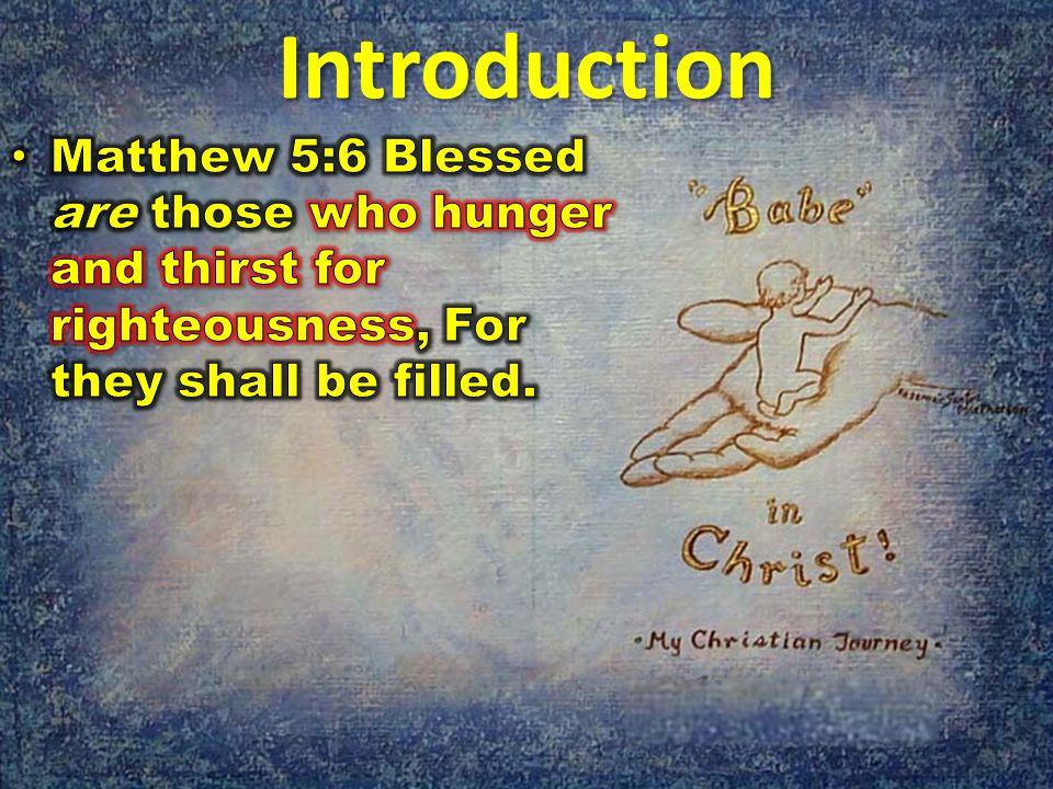 Measuring Our Spiritual Maturity Ephesians 4:12-16