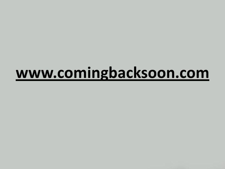 www.comingbacksoon.com