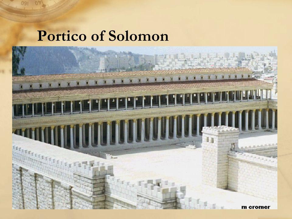 Portico of Solomon