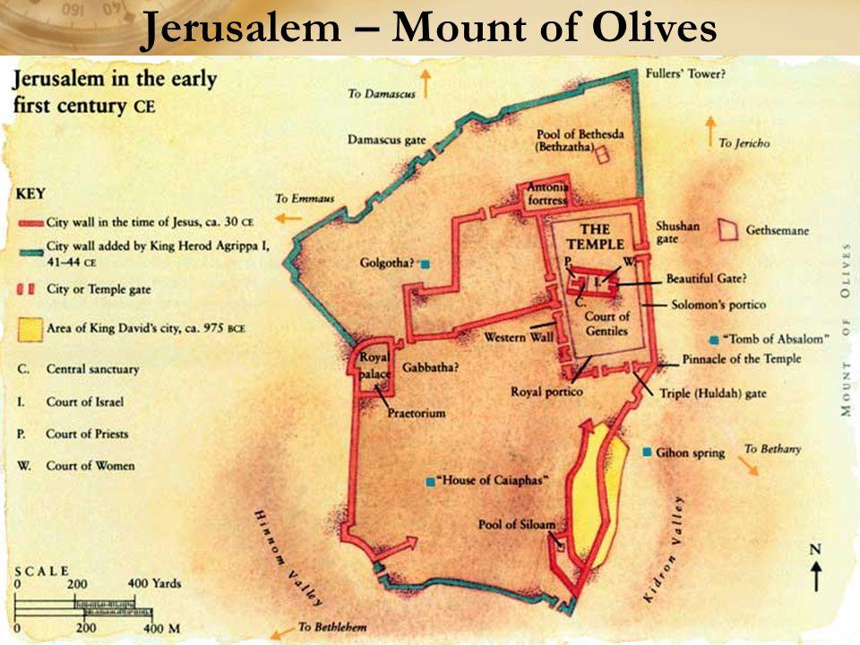 Jerusalem – Mount of Olives
