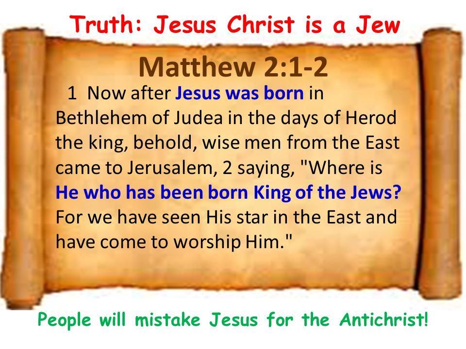 Lie # 4 Antichrist will make a covenant with the Jews