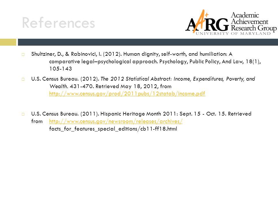 References  Shultziner, D., & Rabinovici, I. (2012).