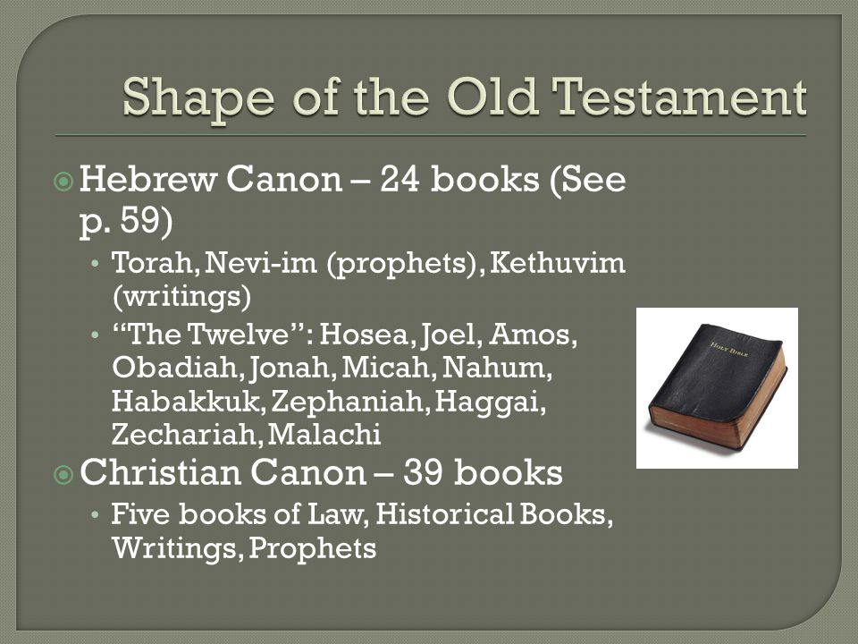  Nahum, Habbakuk – little known about them, some of the shortest books of the Bible Some prophecies included in Advent readings of the Church as prophecies for Jesus  Zephaniah – important period of religius reform in Judah.