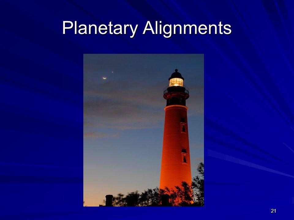 21 Planetary Alignments