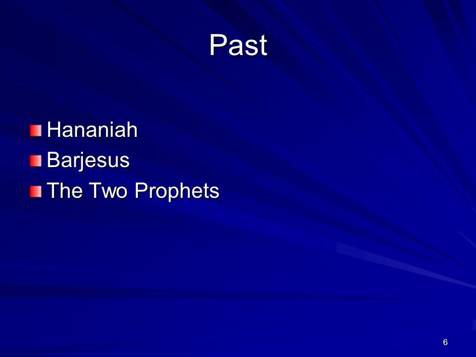 7 Hananiah Jeremiah 28 1 And it came to pass the same year, in the beginning of the reign of Zedekiah king of Judah, in the fourth year, and in the fifth month, that Hananiah the son of Azur the prophet, which was of Gibeon, spake unto me in the house of the LORD, in the presence of the priests and of all the people, saying, 2 Thus speaketh the LORD of hosts, the God of Israel, saying, I have broken the yoke of the king of Babylon.