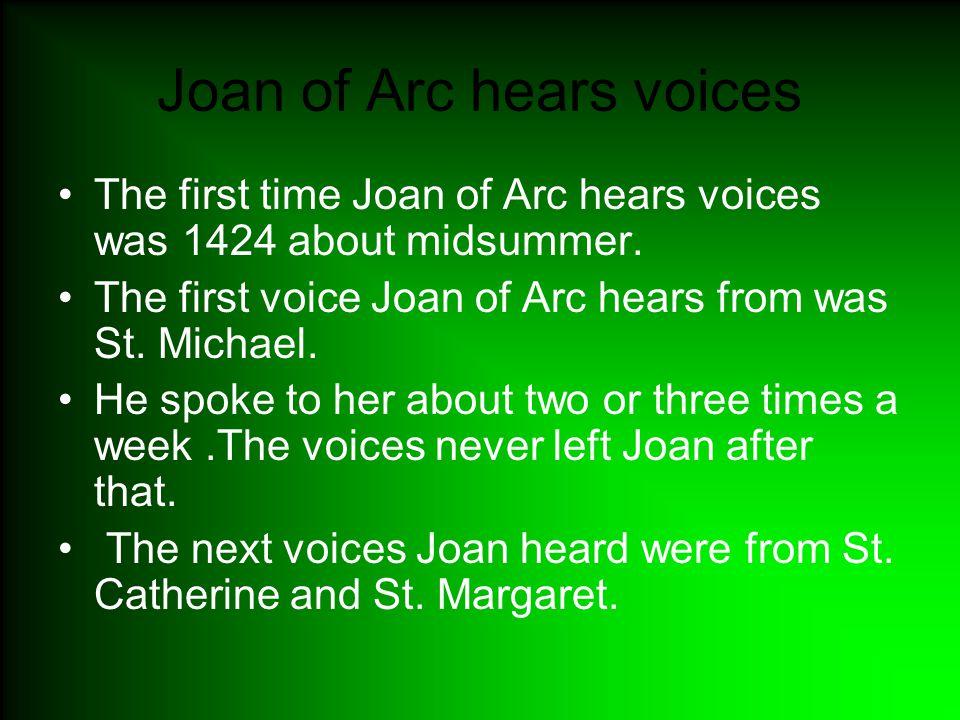 Joan of Arc hears voices Part2 St.