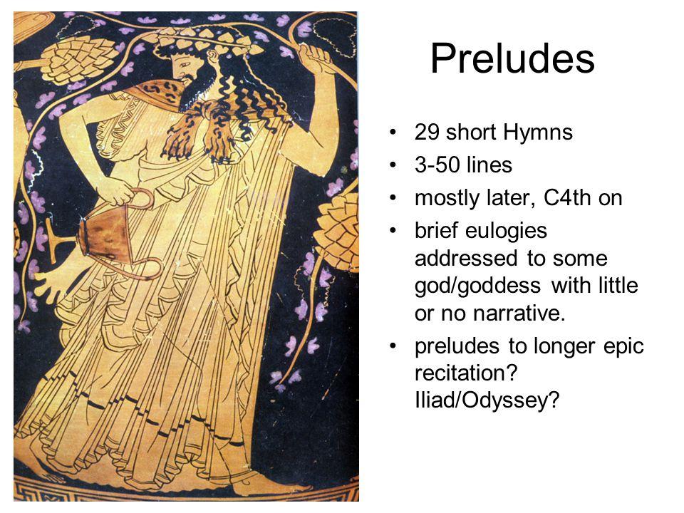 4 Long Hymns 300-600 ls.Demeter, Apollo, Hermes, Aphrodite c.