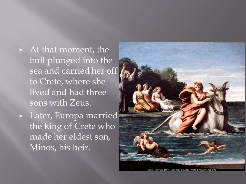  Peleus found Thetis on the seashore and seized her.