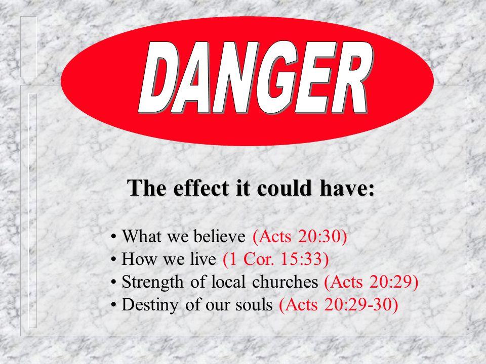 III.Tolerant of error and its teachers A. Error is dangerous - must be marked B.