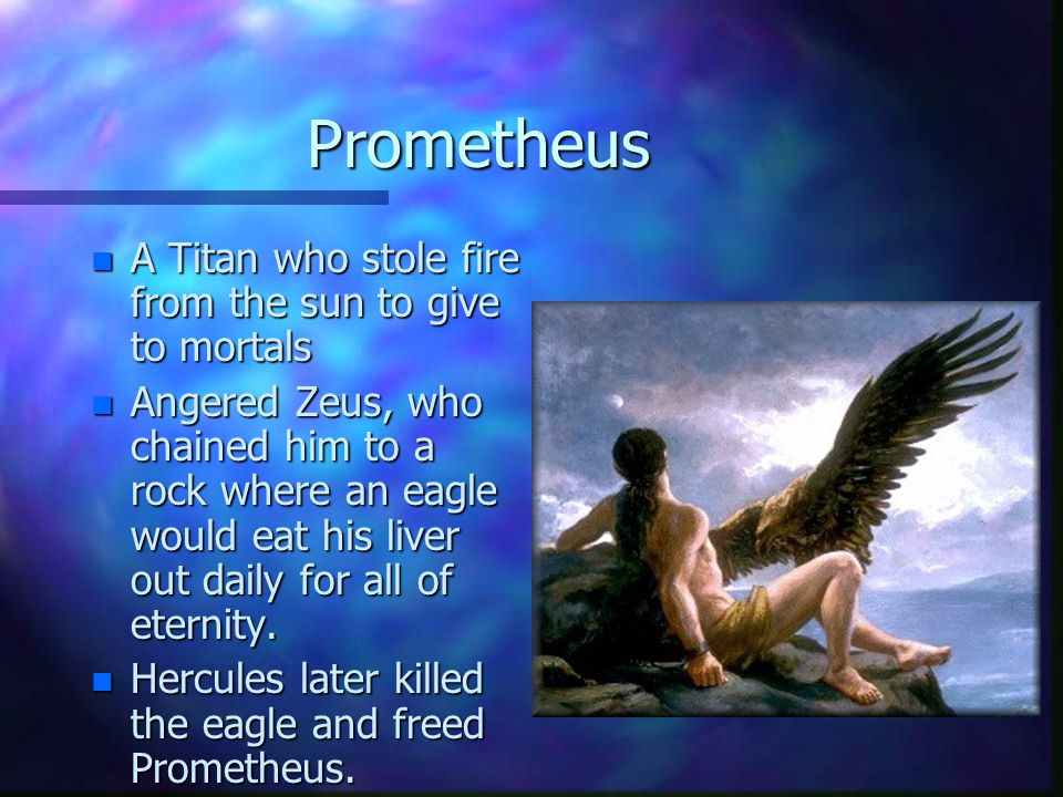 Chiron n The only good centaur n He was very wise and had great knowledge of the healing arts.