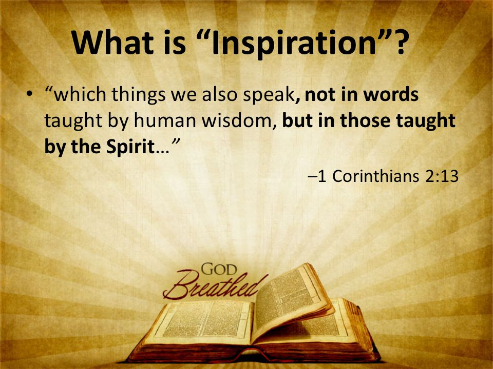 What is Inspiration .
