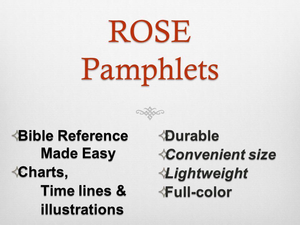 ROSE Pamphlets