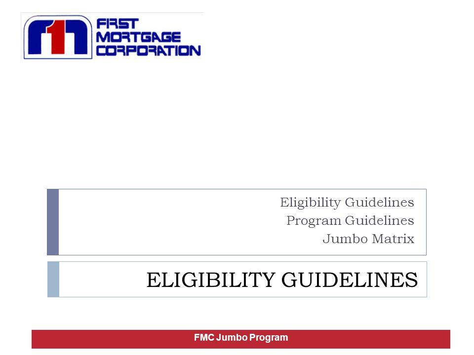 Borrower Eligibility U.S.Citizens / Non U.S.