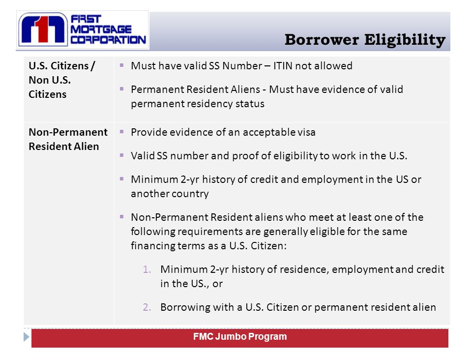 FMC Jumbo Program UW: Assets Ineligible assets for reserves The following assets are ineligible for reserve requirement: Borrower's not eligible for penalty-free withdrawals: Retirement funds including but not limited to vested pension, profit sharing, 401k, or IRA.