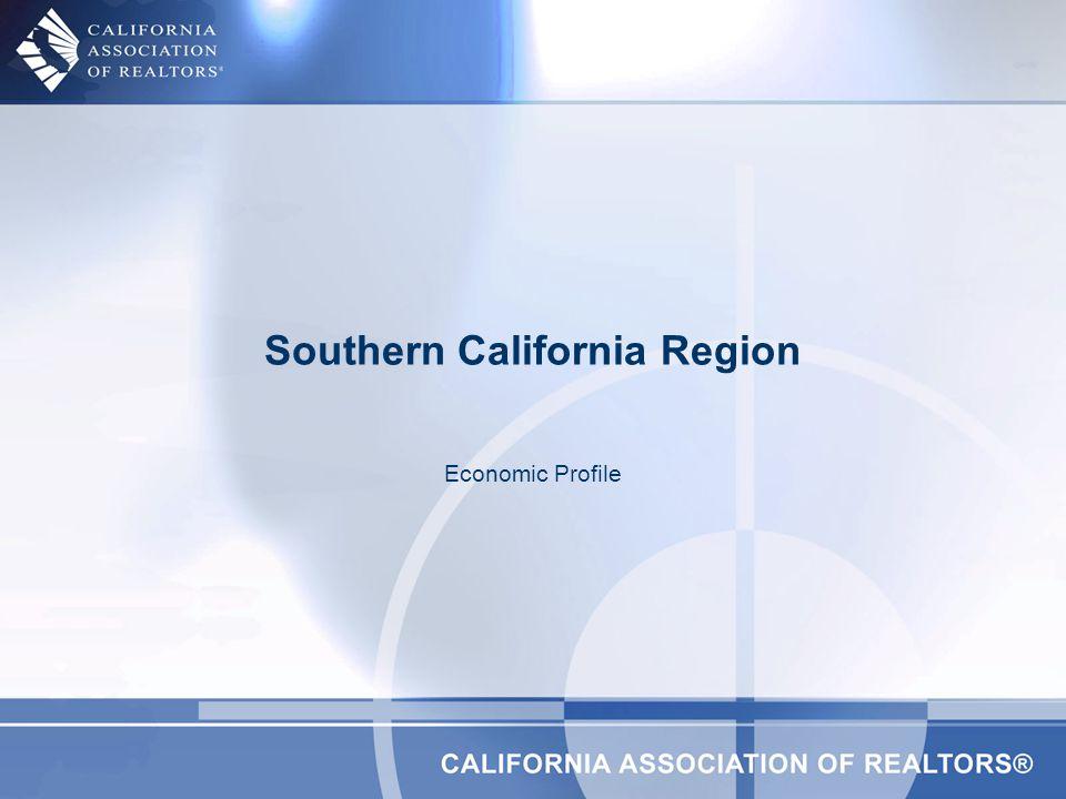 Southern California Region Economic Profile