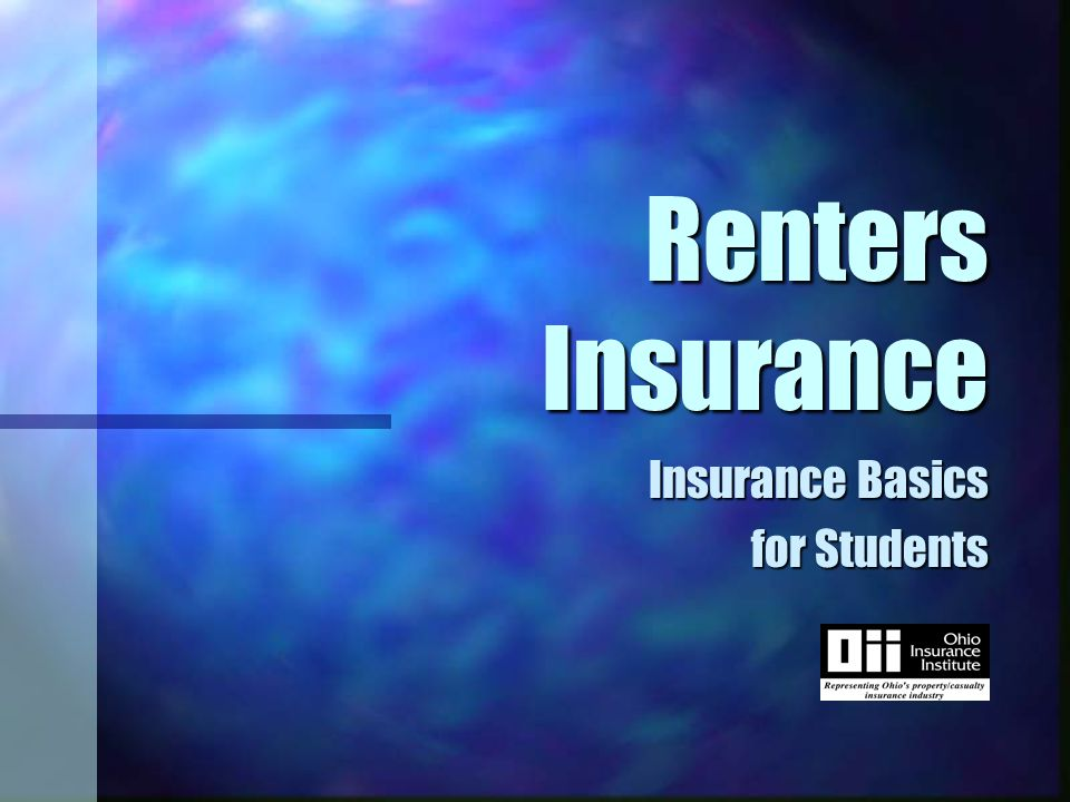 Renters Insurance n A package policy n Types of homeowners policies n Your insurance needs n Shopping for insurance n Insurance premiums n Cost saving tips n Tips for settling insurance claims