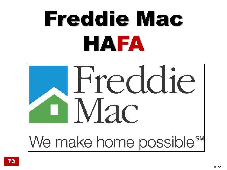 Freddie Mac HAFA 73 5-22