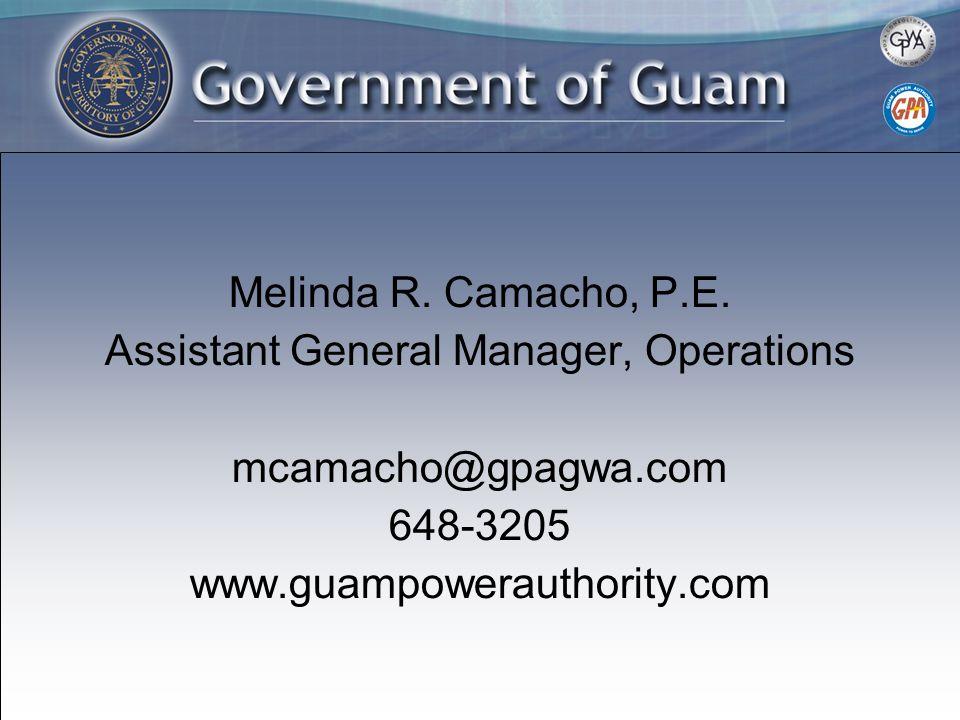 Melinda R. Camacho, P.E.
