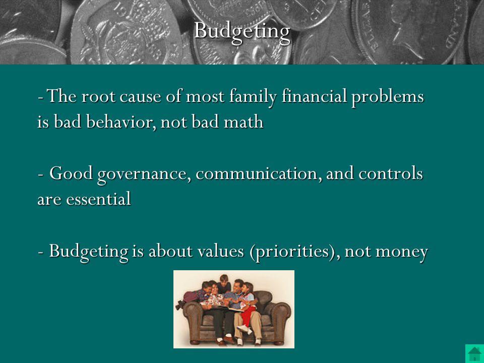 Budgeting Make Saving Easy Make Spending Hard