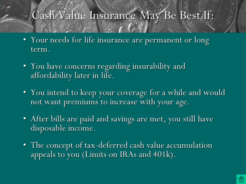 Your primary life insurance need is to replace income that is earned during your working years.Your primary life insurance need is to replace income that is earned during your working years.
