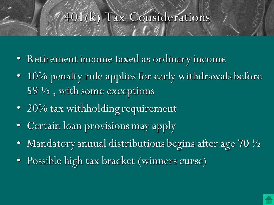 Contribution Limits For a 401(k) plan the employee contribution cannot total over 25% of compensation (before and after tax).For a 401(k) plan the employee contribution cannot total over 25% of compensation (before and after tax).