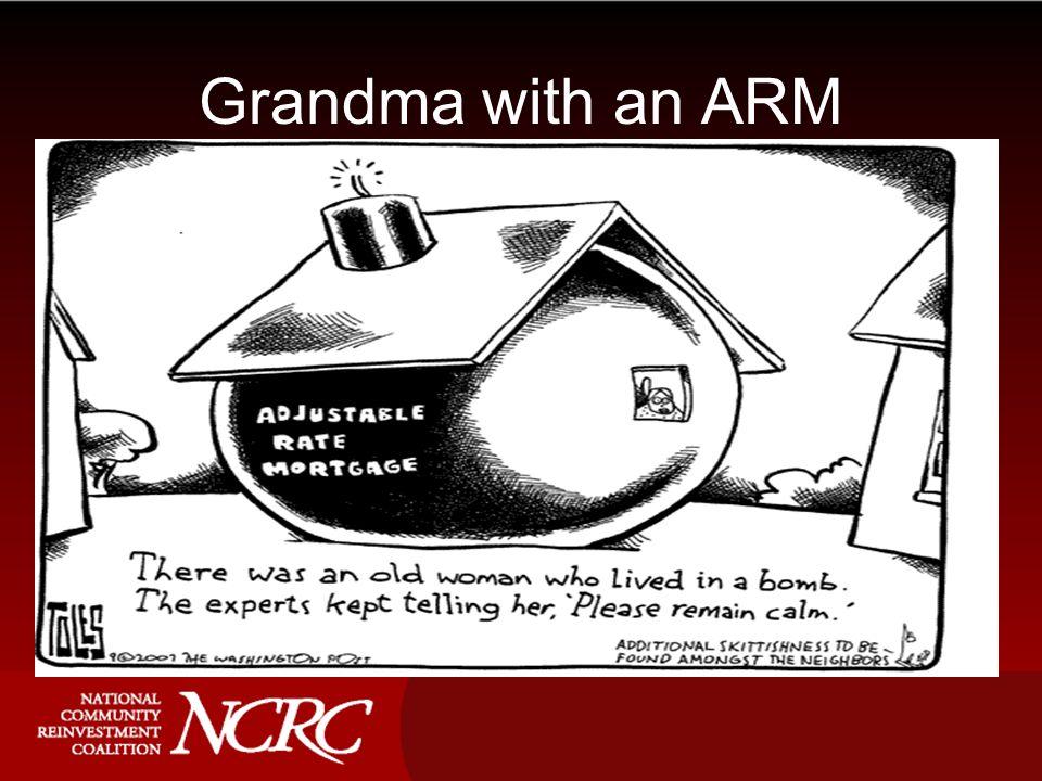 Grandma with an ARM