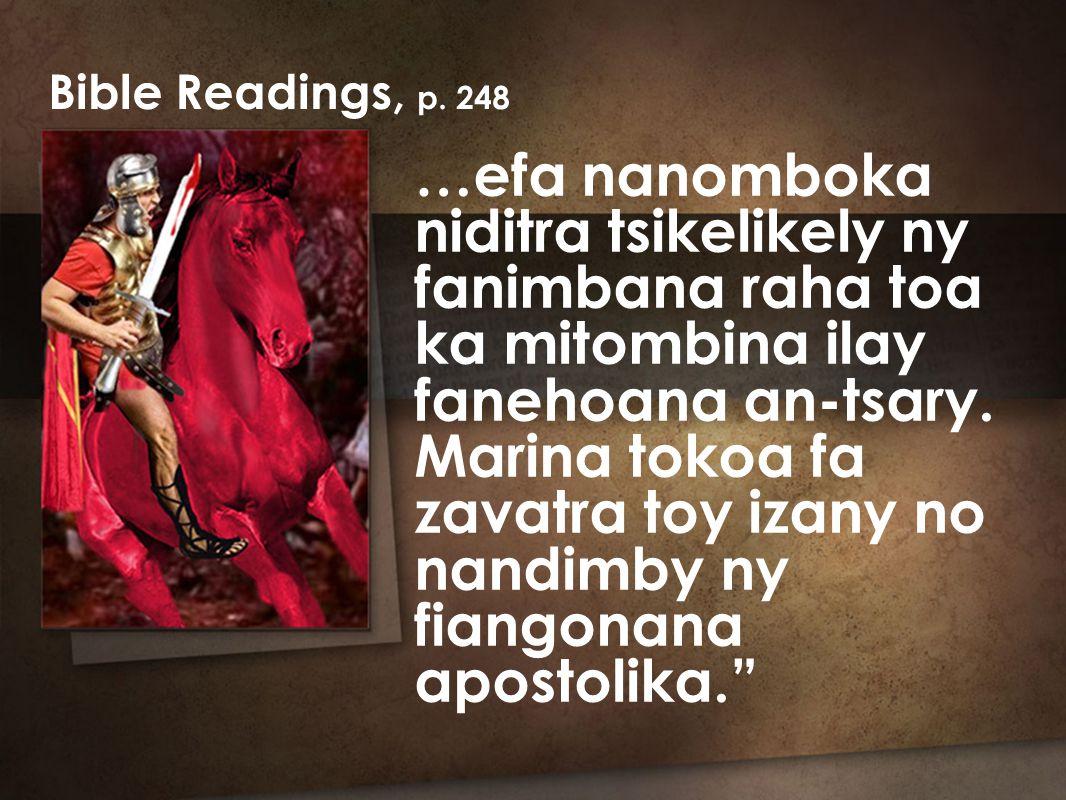 …efa nanomboka niditra tsikelikely ny fanimbana raha toa ka mitombina ilay fanehoana an-tsary.