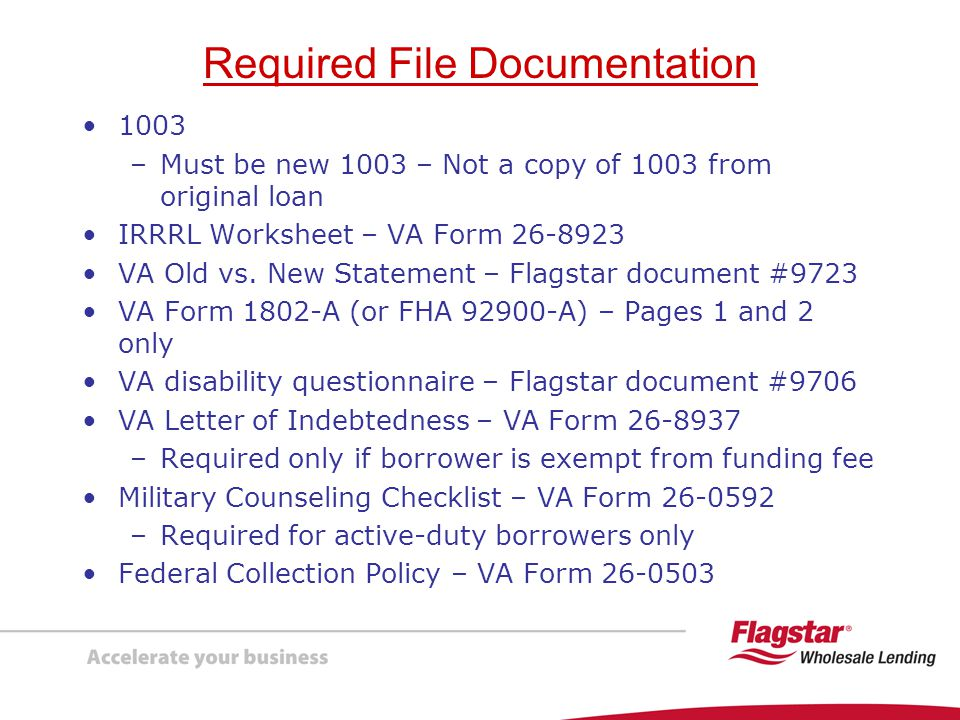 Printables Va Irrrl Worksheet presenting va interest rate reduction refinancing loans irrrls required file documentation 1003 be new not a copy of from