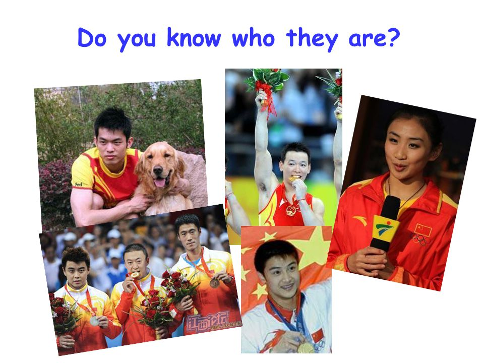 Do you know who they are?