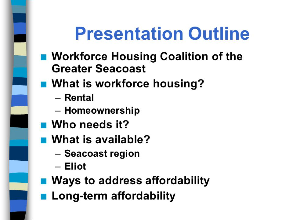What Is The Workforce Housing Coalition of the Greater Seacoast.