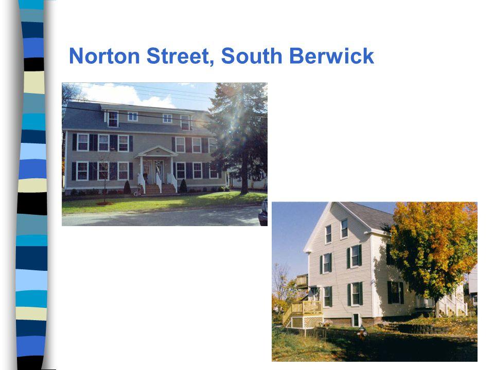 Norton Street, South Berwick