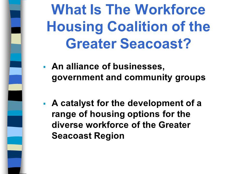 What is Workforce Housing.