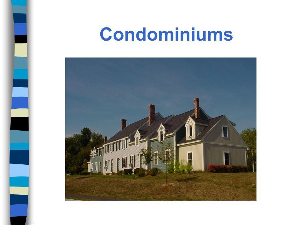 Developer-Sponsored Solutions n Use of manufactured/modular housing n Use slab vs.