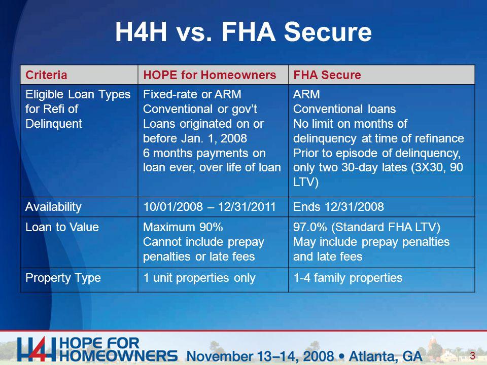 3 H4H vs.