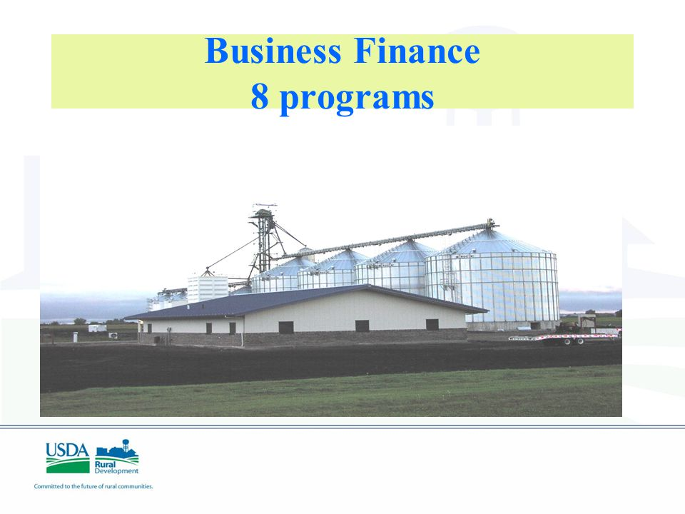 Business Finance 8 programs